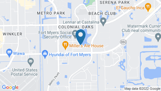 Hampton Inn & Suites Fort Myers - Colonial Blvd Map