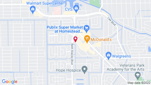 Quality Inn & Suites Lehigh Acres Fort Myers Map