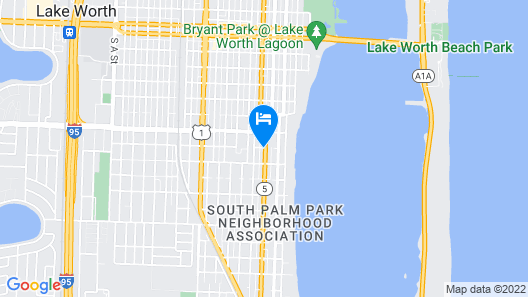 Lake Side Lodge Map