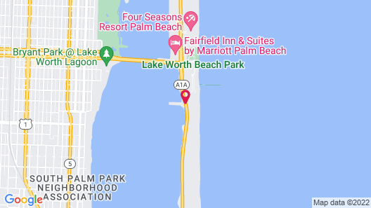 Palm Beach Waterfront Suites Map