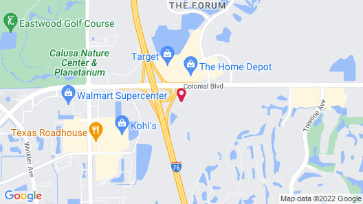 Candlewood Suites Ft Myers I75 Map