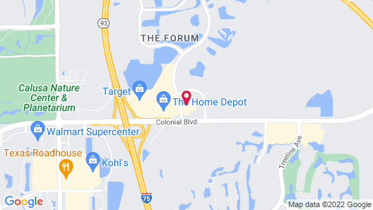 Holiday Inn Express Hotel & Suites Fort Myers East - The Forum, an IHG Hotel Map