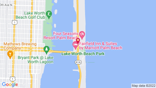 Tideline Ocean Resort and Spa Map