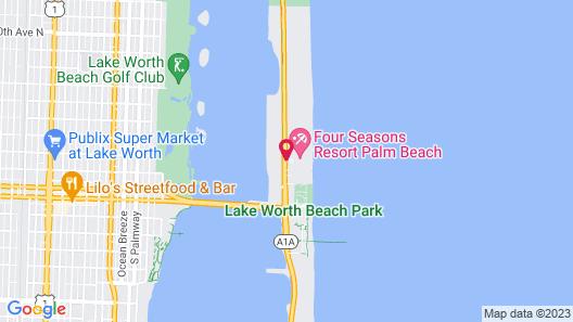 Four Seasons Resort Palm Beach Map