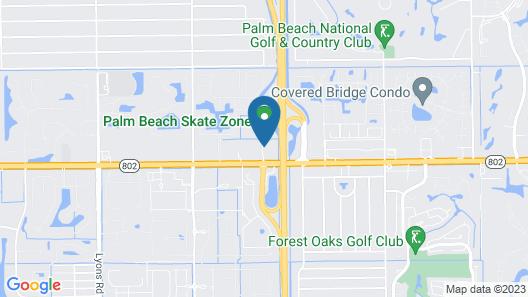 Hampton Inn West Palm Beach-Lake Worth-Turnpike Map