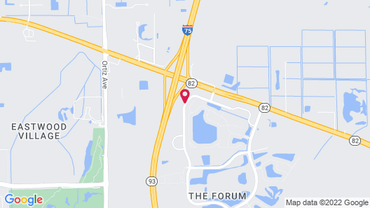 Hyatt Place Fort Myers/at The Forum Map