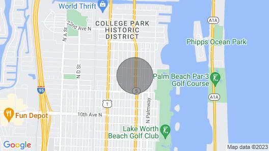 Luxury Beach Condo Getaway With Fast Wifi Map
