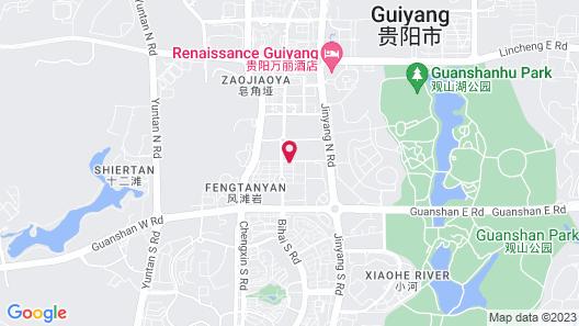 Hyatt Regency Guiyang Map