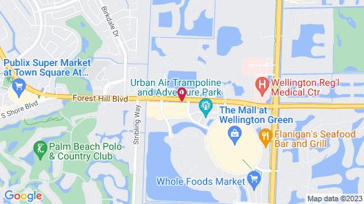 Fairfield Inn & Suites by Marriott Wellington-West Palm Beach Map