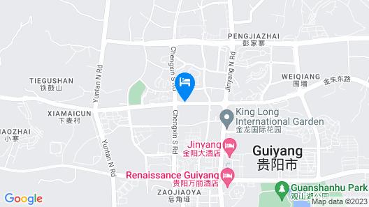 Hilton Guiyang Map