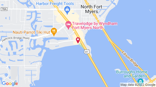 Best Western Fort Myers Waterfront Map