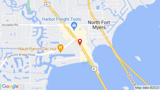Econo Lodge North Map