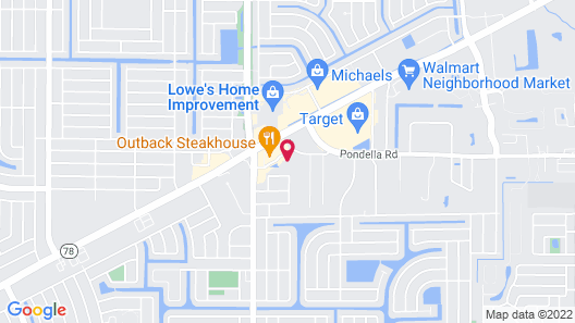 Fairfield Inn & Suites by Marriott Cape Coral/North Fort Myers Map