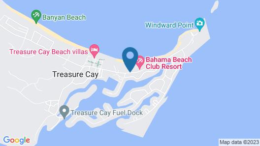 Bahama Beach Club Resort Map