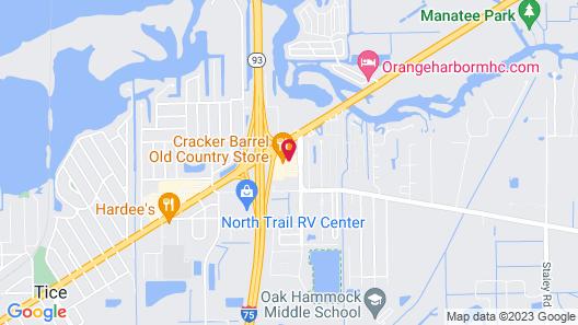 Comfort Inn Fort Myers Northeast Map
