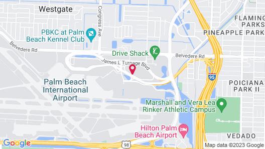 Home2 Suites by Hilton West Palm Beach Airport, FL Map