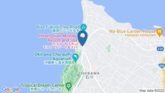 Hotel Orion Motobu Resort & Spa Map