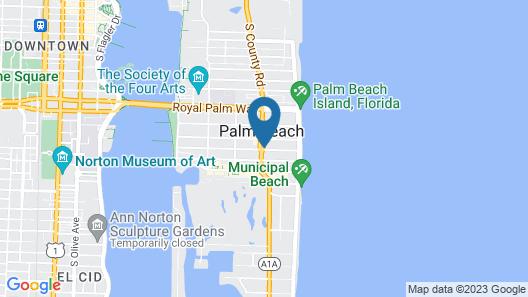 Palm Beach Historic Inn Map