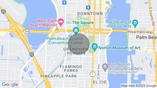 Pink House Modern 3bd/3ba Private Parking & Porch Map