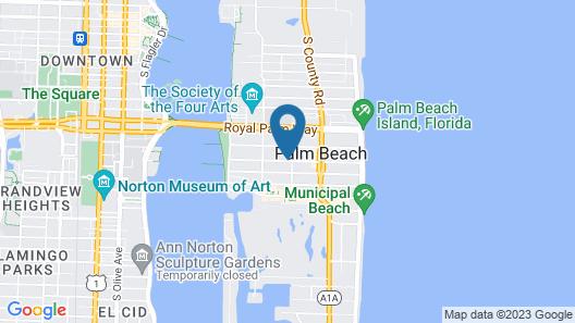 The Brazilian Court Hotel Map