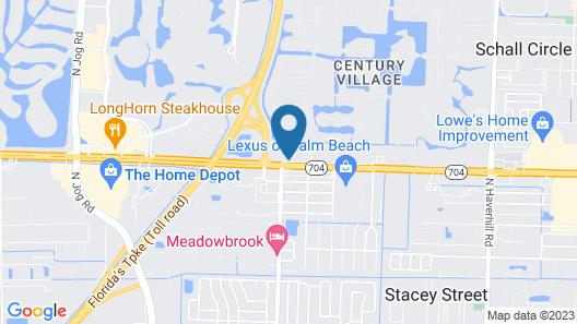 La Quinta Inn by Wyndham West Palm Beach - Florida Turnpike Map
