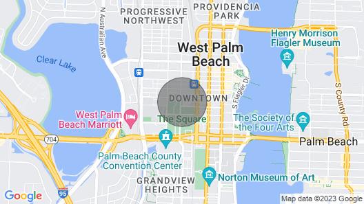 Black Swan - Rosemary Square - Midcentury Modern Map