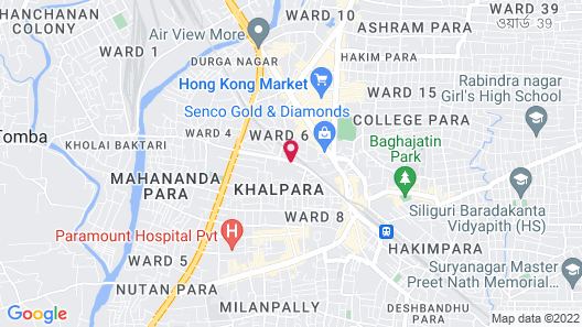 The Four Vedas Hotel & Resort Map