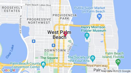 The Ben West Palm, Autograph Collection Map