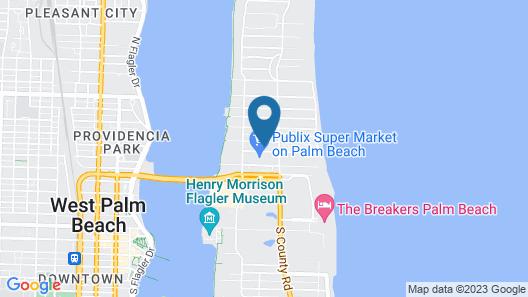 The Palm Beach Hotel Condominium Map