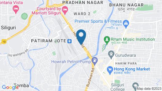 CHAS Rajdarbar Hotel & Banquets Map