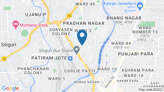 Jagjeet Balaji Inn Map