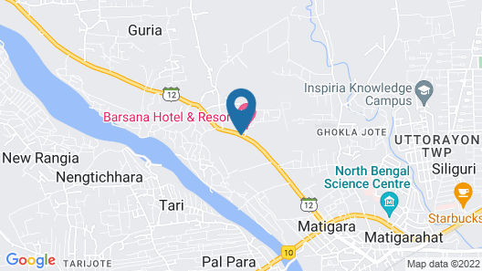 Barsana Hotel & Resort Map
