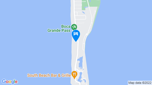 Boca Grande Shores 07 - 3Br Home Map