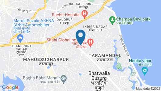 Capital O 10970 Hotel Krishna Palace Map