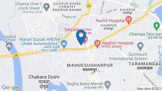 Hotel Satyadeep Inn Map