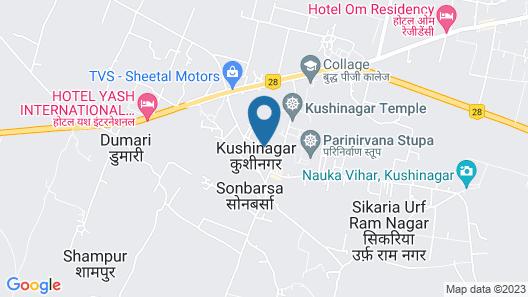 Hotel Om Residency Map