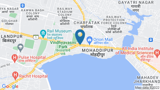 Radisson Blu Gorakhpur Map