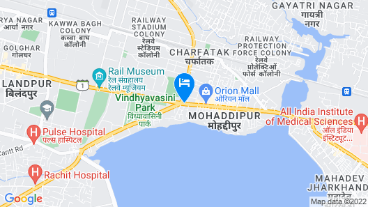 Radisson Blu Gorakhpur Map