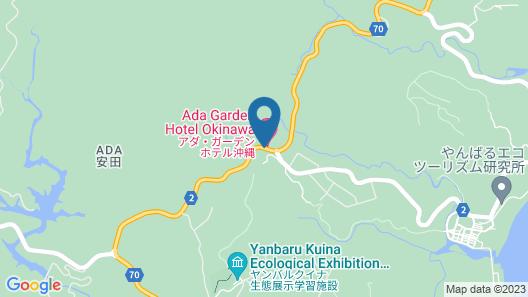 Ada Garden Hotel Okinawa Map