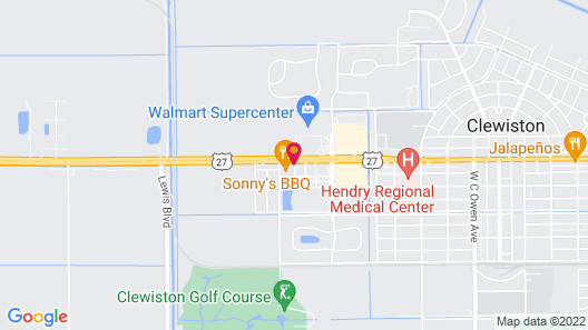 Holiday Inn Express Hotel & Suites Clewiston, an IHG Hotel Map