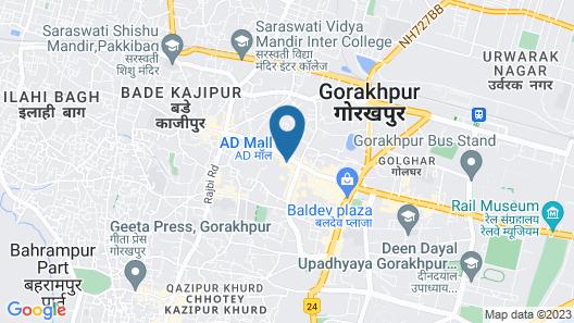 Nirvana Sarovar Portico Gorakhpur Map