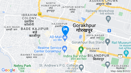 Hotel Pradeep Palace Map