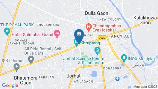 Welcomheritage Burra Sahib's Bungalow Map