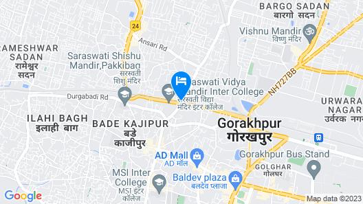 OYO 5655 Hotel Ganges Map