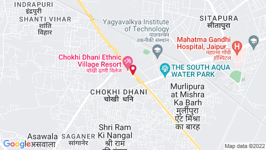 Chokhi Dhani Resort Jaipur Map