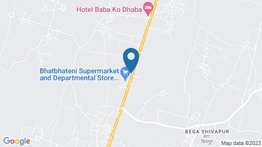 Hotel Raj Durbar & Navrang Resort Map