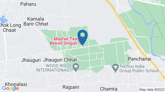 MAYFAIR Tea Resort Map