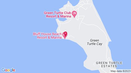 Bluff House Beach Resort & Marina Map