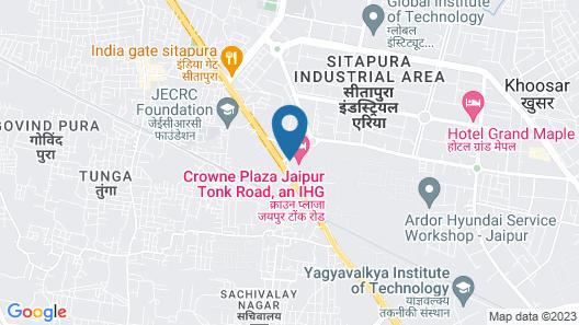 Crowne Plaza Jaipur Tonk Road, an IHG Hotel Map