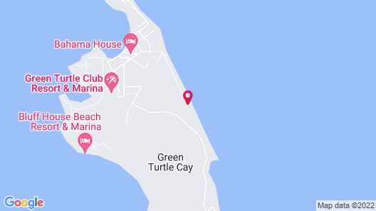Green Turtle Club Resort & Marina Map